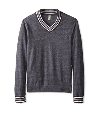 Alternative Men's V-Neck Collegiate Sweatshirt