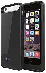 Stalion 3100mAh  Protective Rechargeable Extended Charging Case for Apple iPhone 6 & 6s with 2 Interchangeable Frames + LED Charge Indicator Light (Apple MFi Certified)