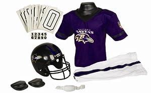 Baltimore Ravens NFL Football Deluxe Uniform Set Size Small
