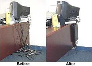 Amazon.com : Wiremate Cable Organizer Black : Wire And Cable Organizers : Office Products