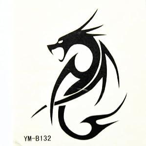 Amazon.com: BT0028 Serpent Dragon Tattoo, Safe & Non-Toxic