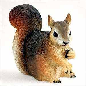 Animal Figurine - Red Squirrel Figurine