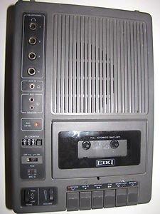 EIKI Cassette Tape Recorder Industrial 3279A Still in Box