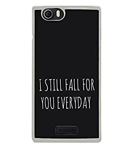 Love Quote 2D Hard Polycarbonate Designer Back Case Cover for Micromax Canvas Nitro 2 E311