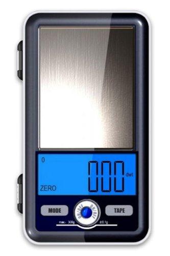 Balance de poches - balance de précision au centième de gramme, or, carats - 300g x 0.01g - garantie 2 ans