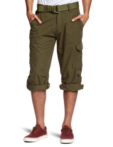 Schott (Brand National) Cargo US 50 Men's Shorts Khaki Small/Medium