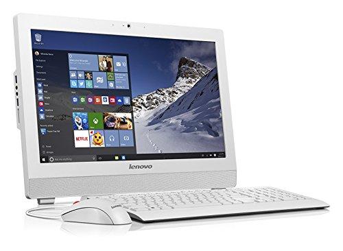 "Lenovo S200z  - Ordenador de sobremesa All in One de 19.5"" (Intel Pentium N3700, 1920 x 1080 pixeles, 1 TB, Full HD, RAM de 4 GB ), color blanco"