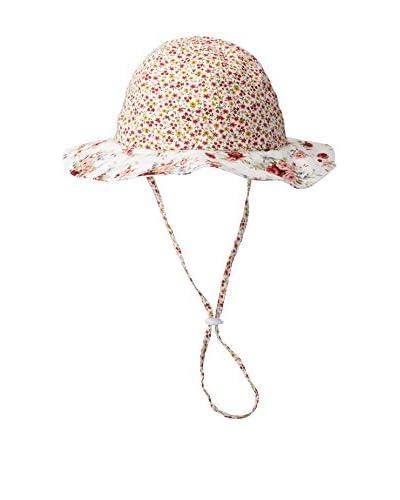 Maniere Kid's Floppy Drawstring Hat, Floral