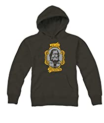 Unisex Hooded Sweatshirt Printed Dog Faced Boy