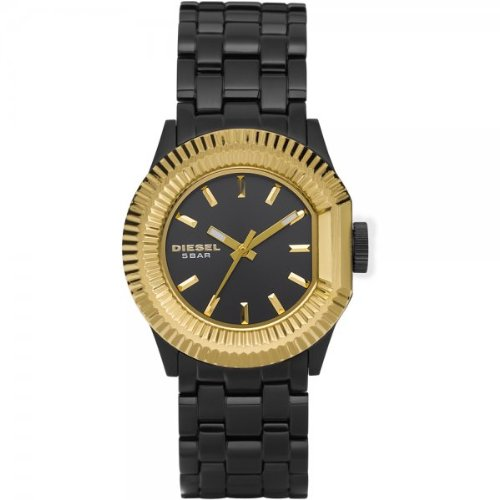 Diesel DZ5258 Ladies Black Plated Watch