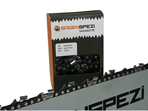 Sägenspezi Halbmeißel Kette Sägekette 44TG 30cm 3/8P 1,3mm passend für Stihl MS201 MS 201