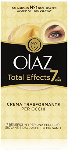 Olaz Total Effects 7 in 1 Crema Trasformante per Occhi, 15 ml