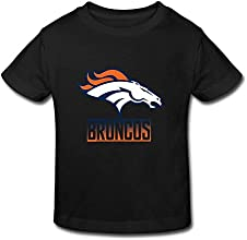 Toddler Kids Little Boys Girls Denver Broncos Team T-Shirts