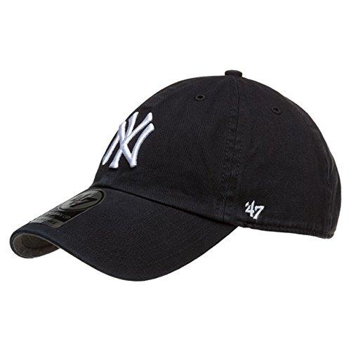 47-Brand-New-York-Yankees-Herren-Kappe-Schwarz
