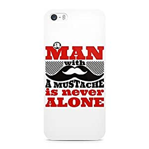 Beard India Stache Is Never Alone Mobile Cover For Apple iPhone 5/5s