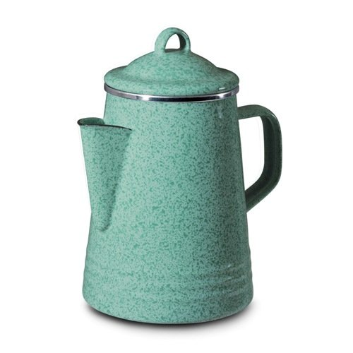 Find Bargain Paula Deen 8-Cup Stovetop Percolator, Blue
