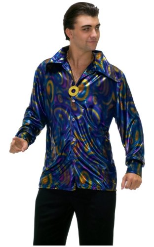 Dynomite Dude Disco Shirt - Adult Costume