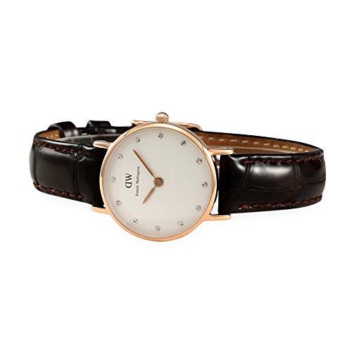 Daniel Wellington 丹尼尔?惠灵顿 0902DW 女式 经典摩登系列 施华洛世奇水晶 时尚超薄手表图片