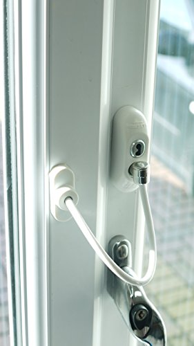 Canzak Window/Door Restrictor Cable Multiple Colors, White (Window Safety Locks compare prices)