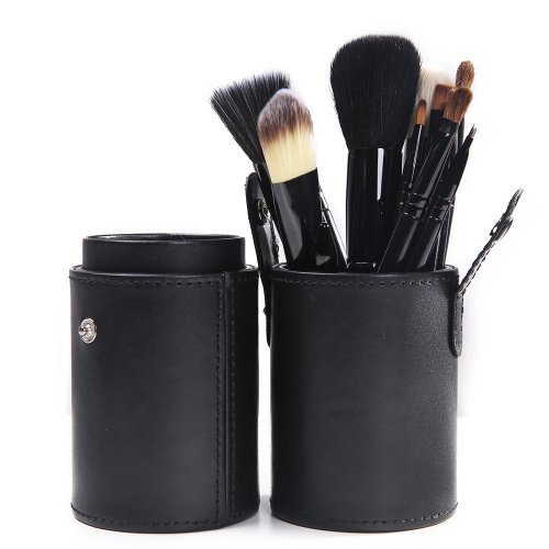 lychee-women-professional-makeup-brush-set-12-pcs-kit-with-cup-holder-case