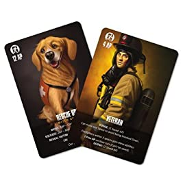 Flash Point: Fire Rescue- Veteran and Rescue Dog Expansion