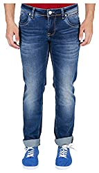 INTEGRITI Men's Jeans (ATTITUDE-307 S SKFT MSTN_34, Blue, 34)