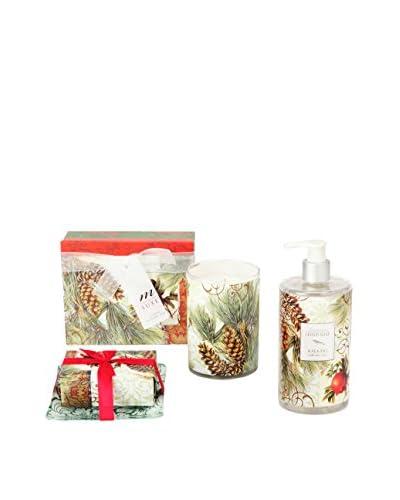 Mudlark Winter Fir Soap & 10.5-Oz. Candle Gift Set