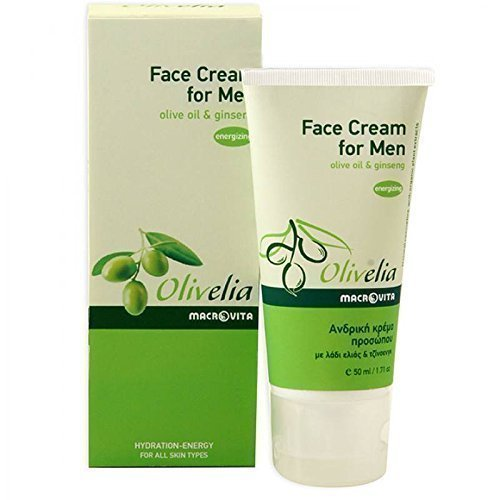 olivelia-face-cream-for-men-olive-oil-ginseng-50-ml