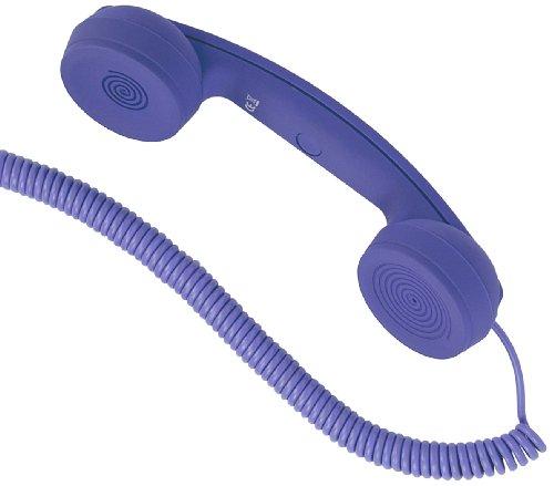 Hi-Fun Hi-Ring Mini Combiné pour Téléphone portable Violet