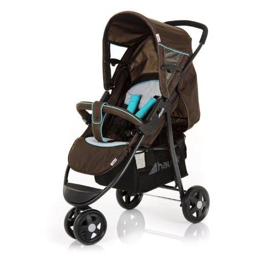 Hauck Citi CI-12 Lightweight 3-Wheeler Baby Pushchair (Petrol)