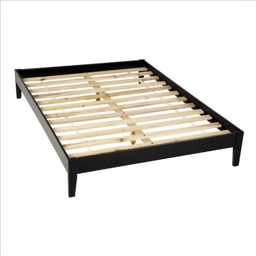 Saved Price $60.01 For Modus Furniture Nevis Queen Size Simple Platform Bed, Espresso : Bed ...