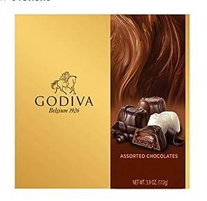 Godiva Assorted Chocolates, 3.9 Ounce