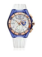 TechnoMarine Reloj de cuarzo Woman Cruise Beach Blue Pansy 40 mm