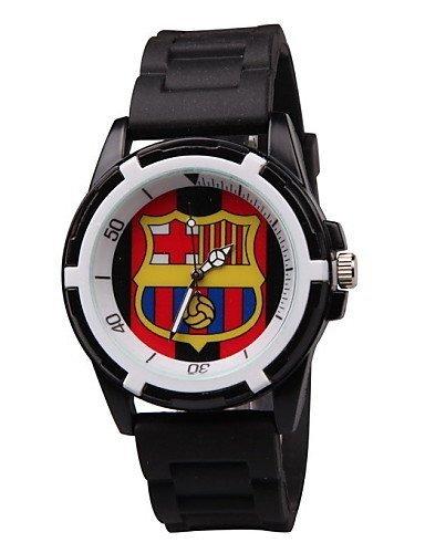 X&F Manchester United arsenale chelsea tifosi del Liverpool rifornimenti Barcellona Real madrid orologi moda fan , blue-for lady