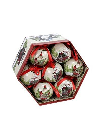 Decoracion Navideña Set Colgante decorativo 14 Uds. Árbol Navidad Papá Noel Memory