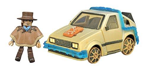 Diamond Select Toys Back to the Future III: Rail Ready Time Machine Minimates Vehicle