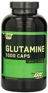 Optimum Nutrition Glutamine 1000mg, 240 Capsules