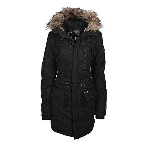 Khujo Eivola giacca invernale nera, Frauen:S