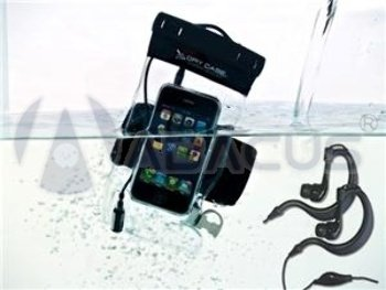 Drycase Waterproof Case For Phones W/ Waterproof Earbuds