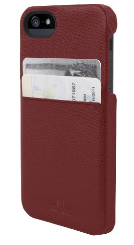 Great Price Hex Solo iPhone 5 Wallet, Torino Red, One Size