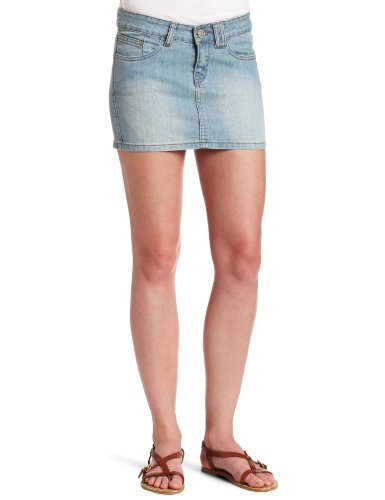 Rip Curl Juniors Coastal Denim Skirt