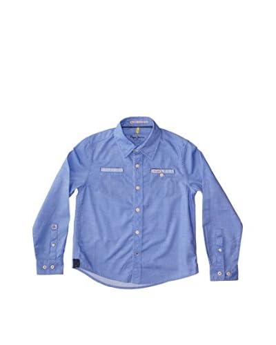 Pepe Jeans London Camisa Niño Batt Azul Oscuro
