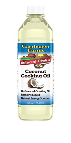 Carrington Farms Coconut Cooking Oil, 16 Ounce (Hydrogenated Oil compare prices)