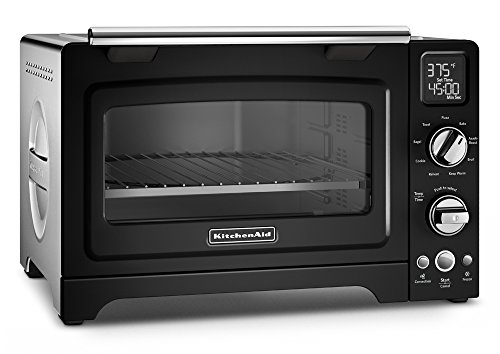 KitchenAid KCO275OB Convection 1800-watt Digital Countertop Oven, 12-Inch, Onyx Black (Kitchenaid Toaster Oven Pan compare prices)