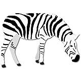 My Wonderful Walls Zebra Wall Mural Stencil