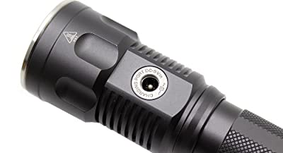 JetBeam DDR-26 XM-L2 Rechargeable Digital Display LED Flashlight, Grey from Light Junction