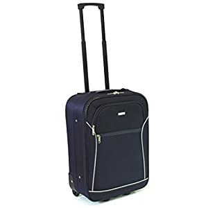 Karabar Guaranteed EasyJet Cabin Approved Suitcase (Azul)