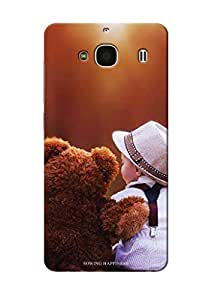 Sowing Happiness Printed Back Cover For Xiaomi Redmi 2