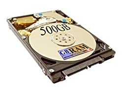 500GB SATA Hard Drive (5400 RPM) for Dell Inspiron N7010 N7110 Laptop