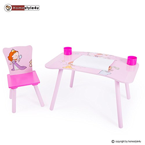homestyle4u kindermaltisch zeichentisch kinder tisch stuhl spieltisch kindertisch maltisch. Black Bedroom Furniture Sets. Home Design Ideas